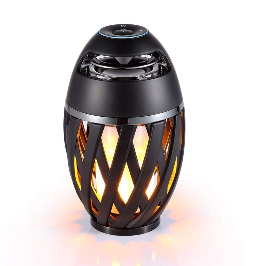 LEDMEI Led Flame iPhone Bluetooth Speakers