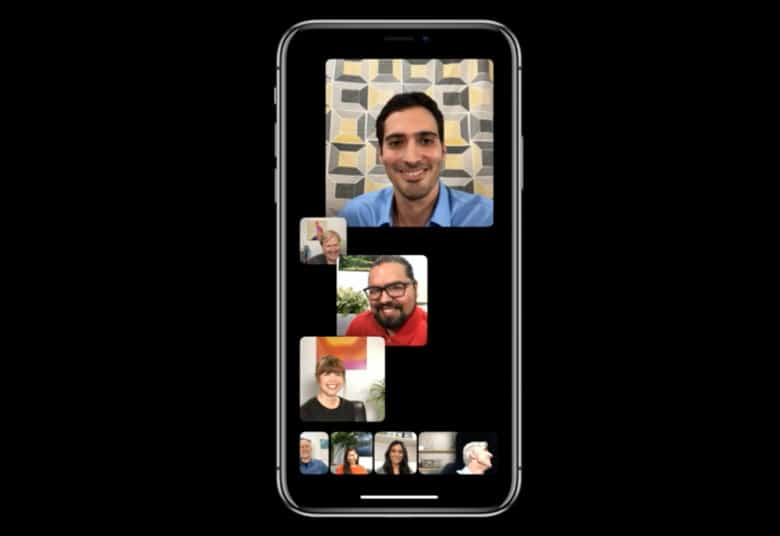 Improved FaceTime