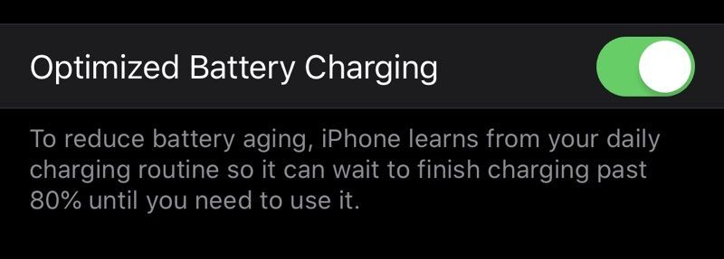 Improved Battery Life