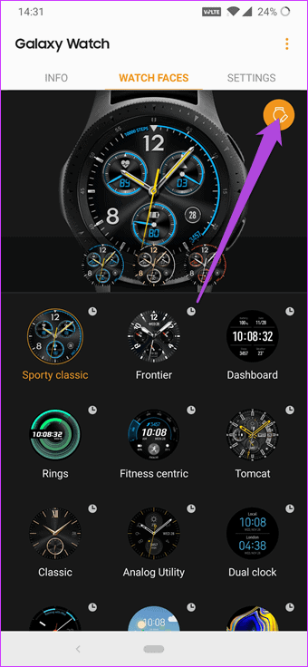 Stylize the Watch Faces