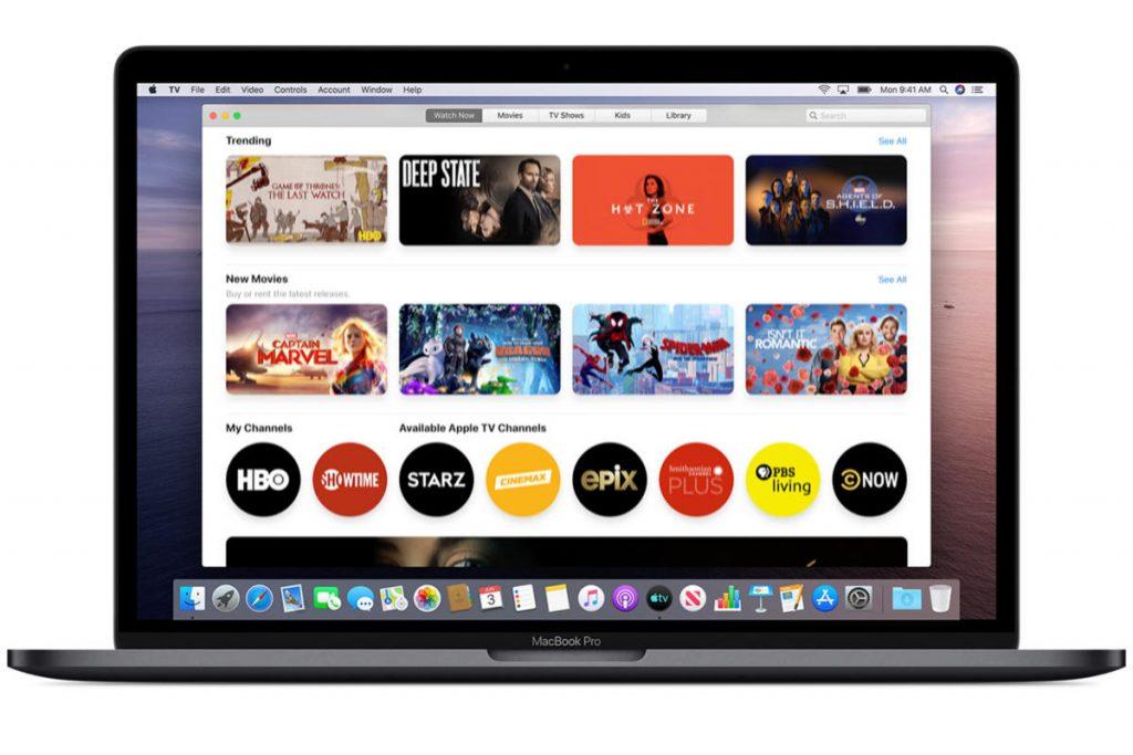 macOS tv app