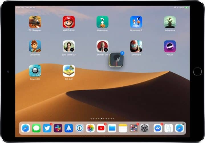 Move Multiple Apps at Once