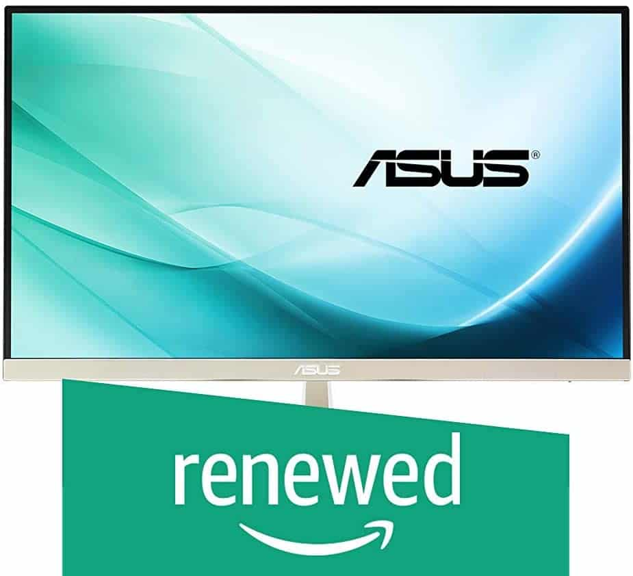 ASUS Frameless Gold 21.5 inch HDMI Widescreen LCD/LED IPS Monitor