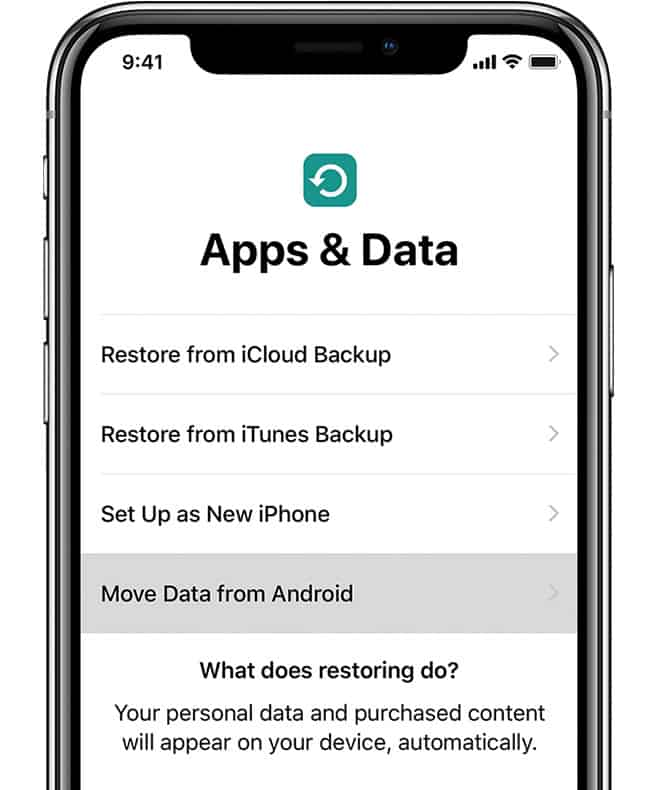 Move to iOS Guide