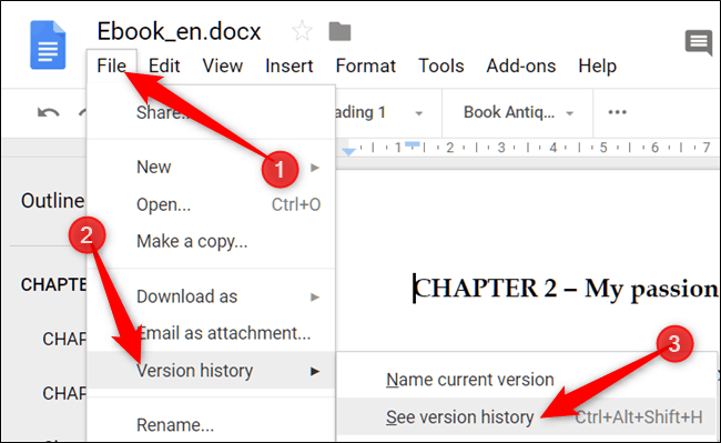How to See All the Recent Changes to a Document