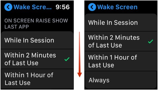 Wake Up with Your Last-Used App