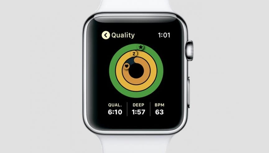 Turn Apple watch into a sleep tracker