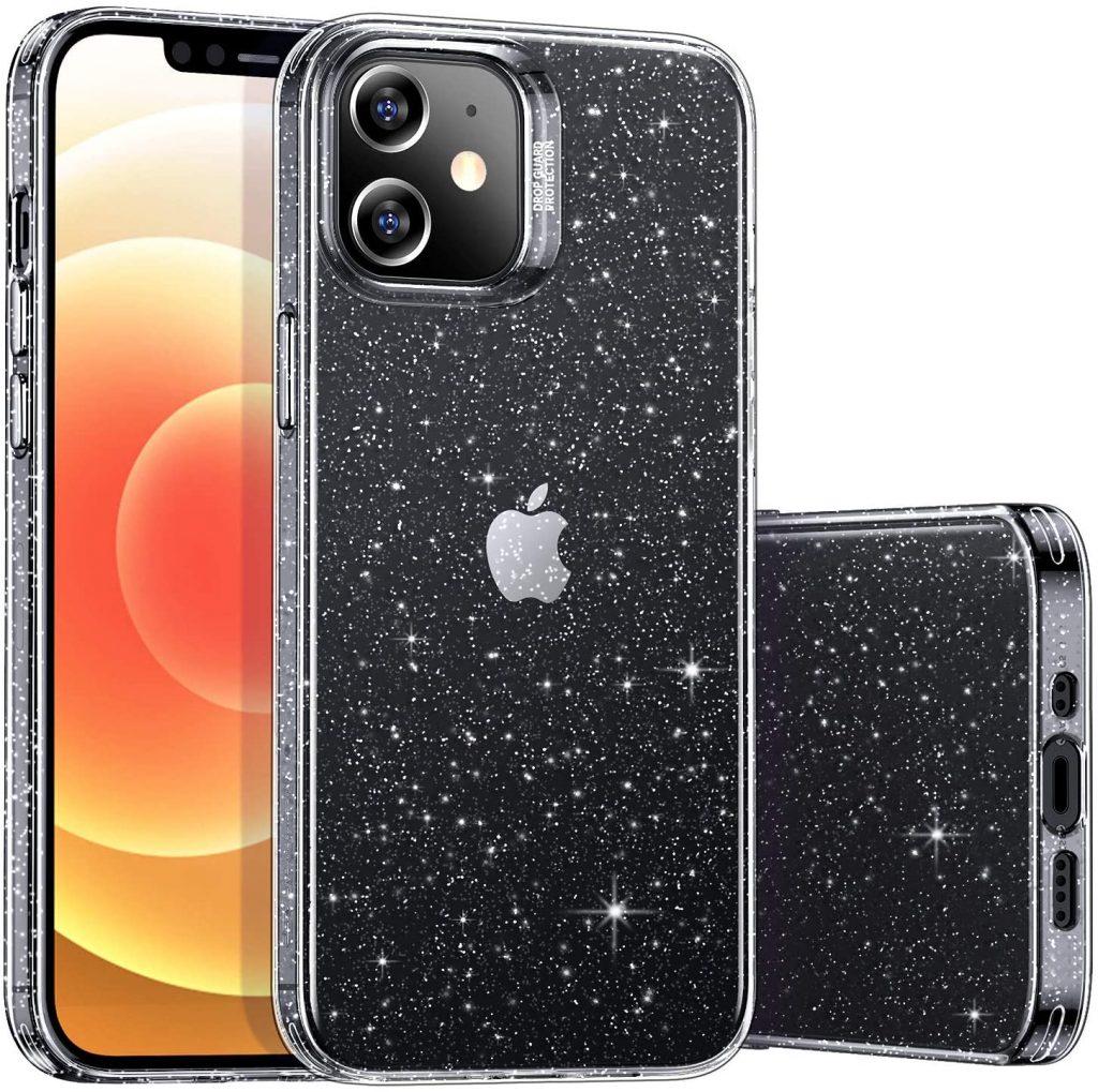 ESR Clear Glitter Case
