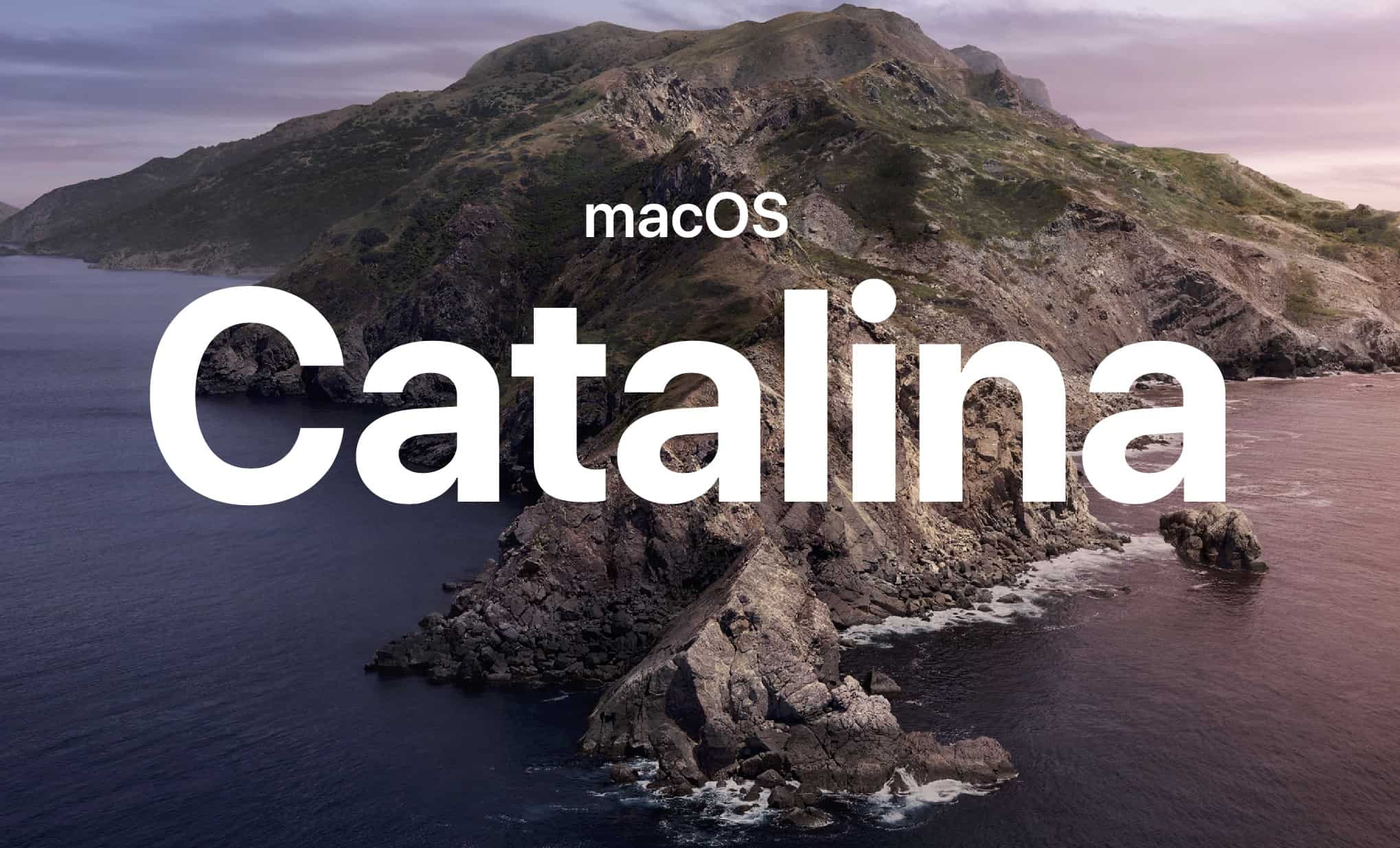 MacOS Catalina Apple Logo