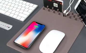 Wireless Charging Mouse Pads