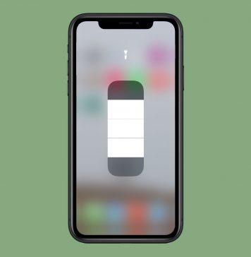 iPhone flashlight