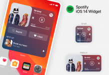 Add Spotify Widget on iPhone