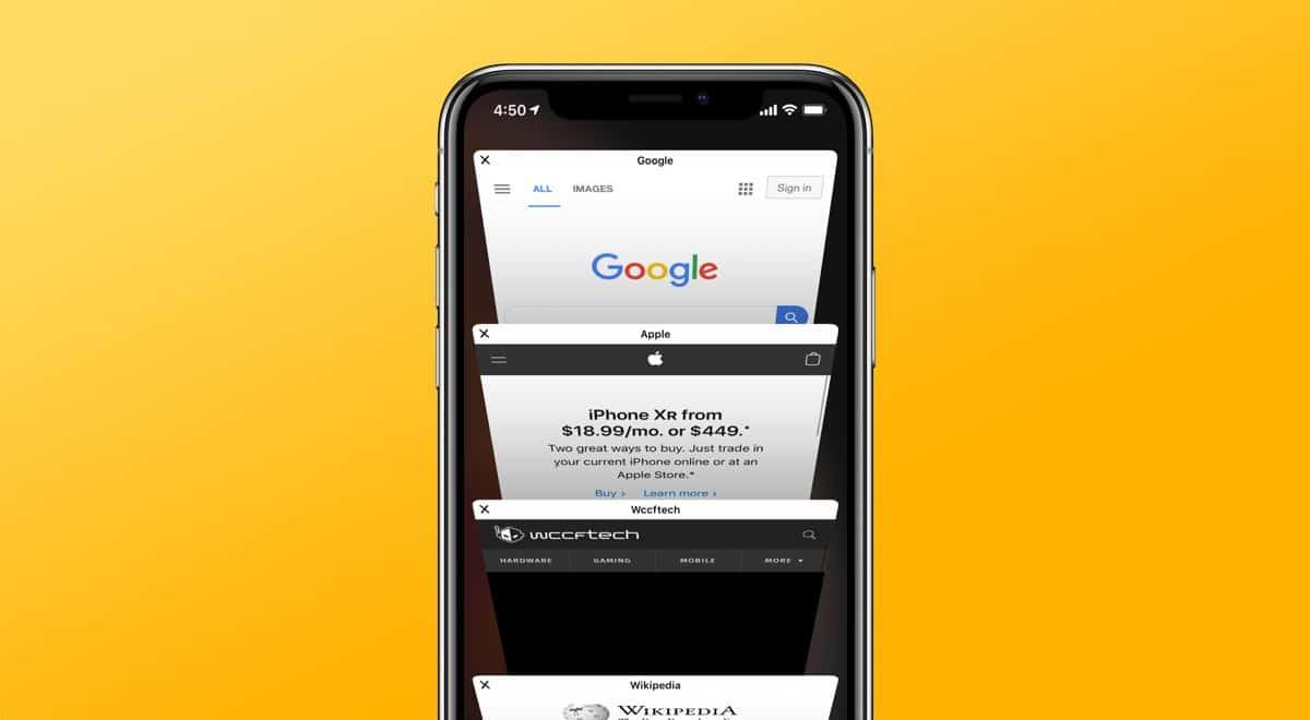Bookmark Multiple Tabs in Safari